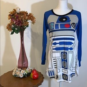 🌚 NWOT's Star Wars R2D2 Nightgown 🌚